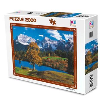 Ks Games 2000 Parça Puzzle Bavarian Alps 11218