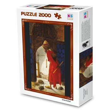 Ks Games 2000 Parça Puzzle Kaplumbağa Terbiyecisi 11296