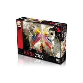KS Games Kelebek Etkisi 2000 Parça Puzzle 11297