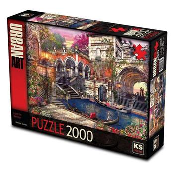 KS Games Love in Venice 2000 Parça Puzzle 11475