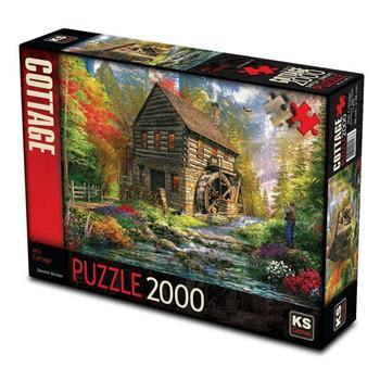 KS Games Mill Cottage 2000 Parça Puzzle 11476
