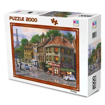 KS Games Paris Streets 2000 Parça Puzzle 11307