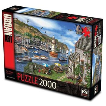 KS Games The Village Harbour 2000 Parça Puzzle 11386