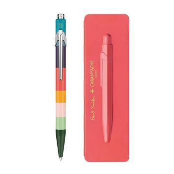 Caran d'Ache 849 Paul Smith Coral Pink Tükenmez Kalem Limited Edition 849.582