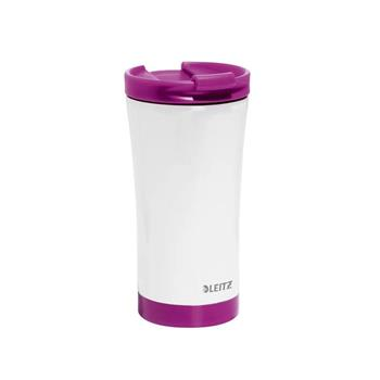 Leitz WOW Traveler Mug Metalik Mor 90140062