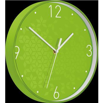 Leitz WOW Sessiz Duvar Saati Metalik Yeşil 90150054