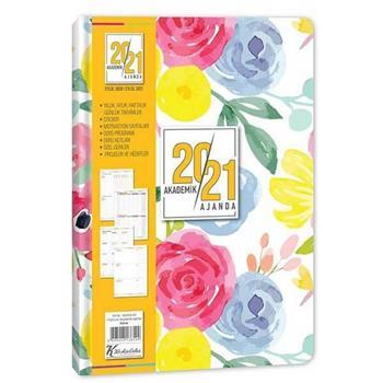 Keskin Color 17x24 Ciltli Akademik Ajanda Bahar 830262-99