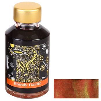 Diamine 50ml Shimmering Dolma Kalem Mürekkebi  Brandy Dazzle