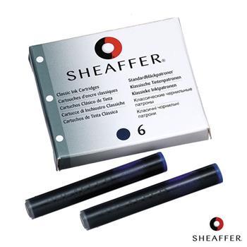 Sheaffer Dolma Kalem Kartuşu Mavi/siyah 6 Lı 96213