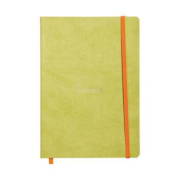 Rhodia Dot Pad (Noktalı) Defter 148x210 Yeşil Kapak A5 117456