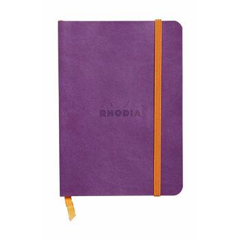 Rhodia Defter Çizgili 148x210 A5 Violet Kapak 117410