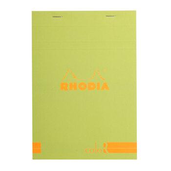 Rhodia Bloknot A5 Yeşil Çizgili Karton Kapak 70yp 16966