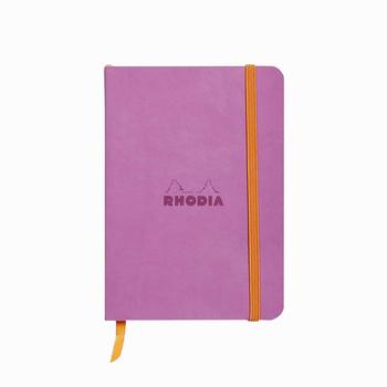 Rhodia Softcover Deri Kapak A6 Noktalı (Dot Pad) Defter Lila 117361