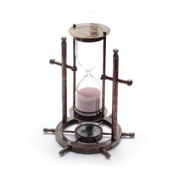 Icapra Antique Pusulalı Kum Saati Stanley London
