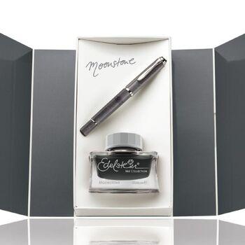 Pelikan M205 Dolma Kalem Moonstone 2020 Special Edition + Mürekkep Set