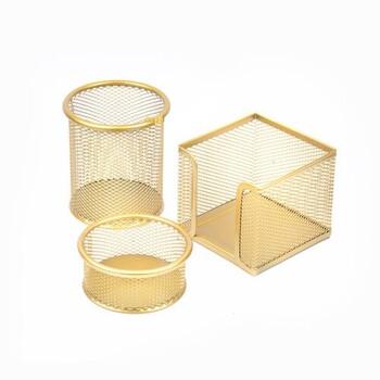 Mas 505 Perfore Üçlü Set Gold