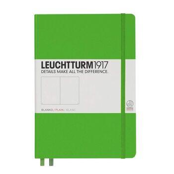 Leuchtturm1917 Orta Boy (A5) Not Defteri Düz Fresh Green Sert Kapak 357491