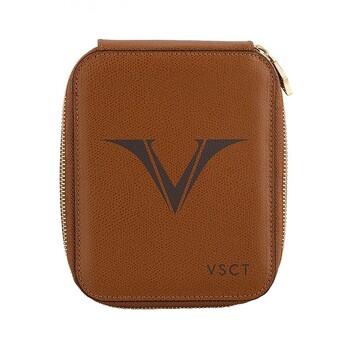 Visconti Deri Kalem Kılıfı 6' Lı Kahverengi KL09-04