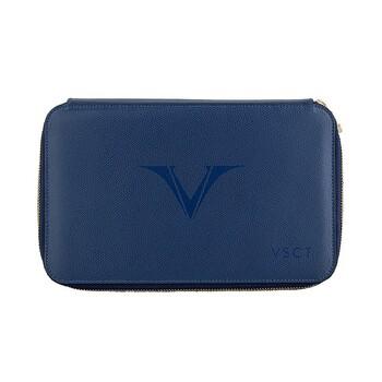 Visconti Deri Kalem Kılıfı 12' Li Mavi KL11-02
