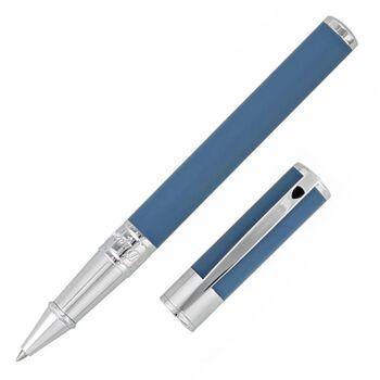 S.T. Dupont Roller Kalem D-Initial Shark Blue 262217