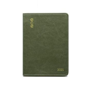 Ece Ajanda 2021 13x18 Moda Haftalık Yeşil