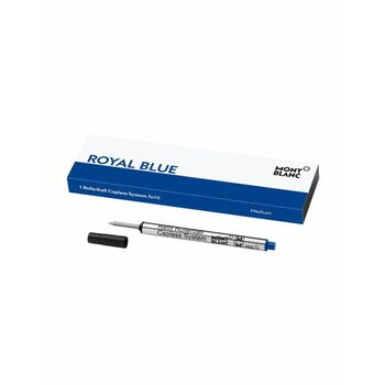 Montblanc Roller Kalem Capless System Refill Medium Royal Blue 124496
