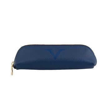 Visconti Deri Küçük Kalemlik Mavi KL01-02