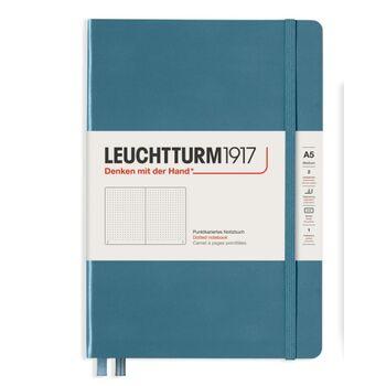 Leuchtturm1917 Rising Colors Not Defteri A5 Stone Blue 363334