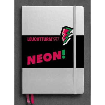 Leuchtturm1917 Neon Special Edition Not Defteri A5 Neon Pink 361392