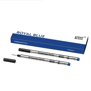Montblanc Roller Kalem Refill Medium Royal Blue 124504