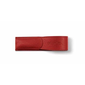 Otto Hutt Deri Kalem Kılıfı İkili Kırmızı 156-62343