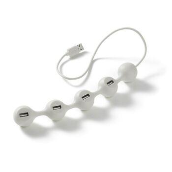 Lexon Peashub USB Çoğaltıcı Beyaz LD94W7