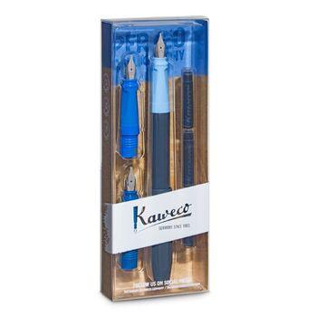 Kaweco Perkeo Mavi Kaligrafi Seti 10002092