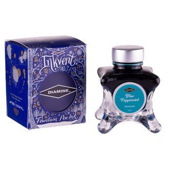 Diamine Dolma Kalem Mürekkebi Inkvent Shimmer Blue Peppermint 50 ml