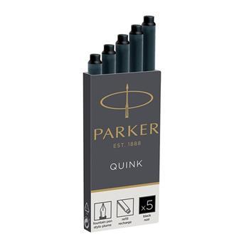 Parker Dolma Kalem Kartuşu Quink Siyah 5 Li 1950382