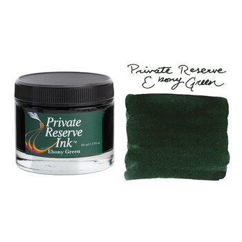 Private Reserve Ink Şişe Mürekkep Ebony Green 60ML PR17024