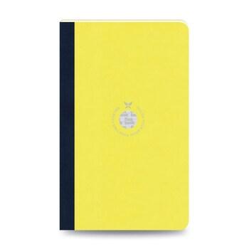Flex Book 50 Esnek Sarı Smartbook 13x21 Siyah Şerit Çizgili 160 Sayfa 70gr