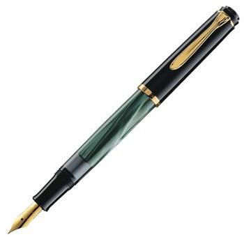 Pelikan M200 Dolma Kalem Yeşil-Siyah Medium Uç