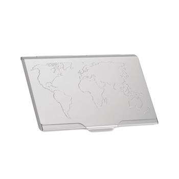 Troika Kartvizitlik Alüm. Dünya Haritası Desenli Cdc15-02/al