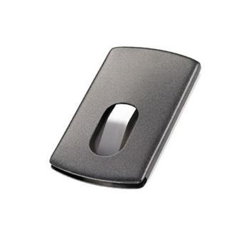 Troika Kartvizitlik Paslanmaz Çelik Siyah Cdc30/bk